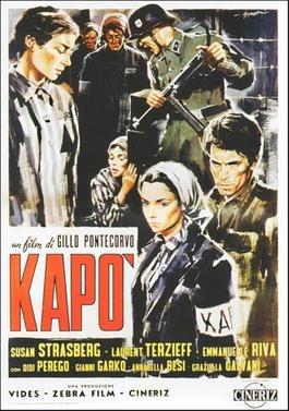 Kapo (1960), Italian Film Poster